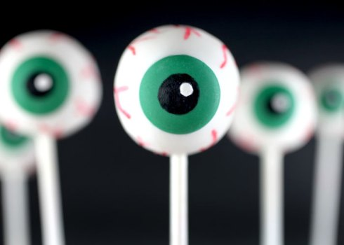 Easy and cute eye pops halloween recipe