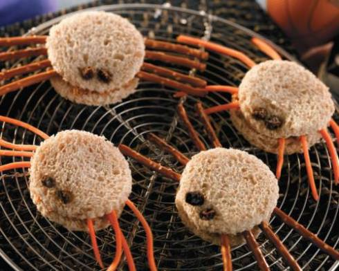 Easy and cute spider halloween recipe