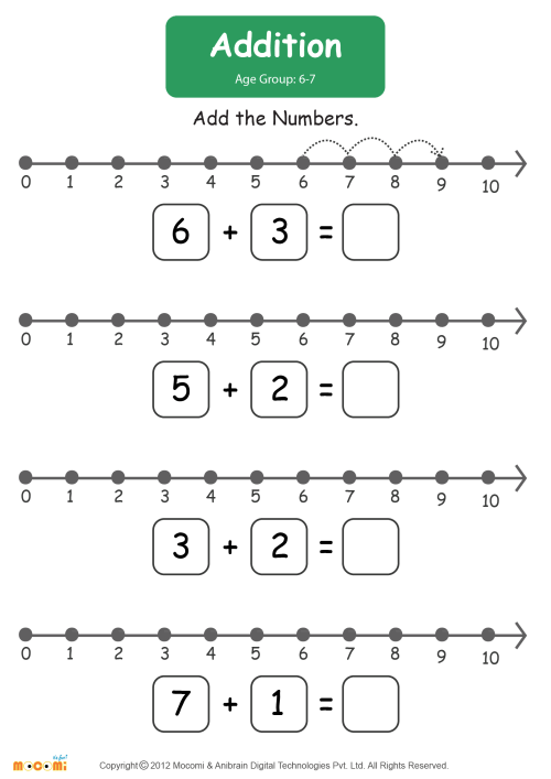 small resolution of Addition Worksheet - Math for Kids   Mocomi