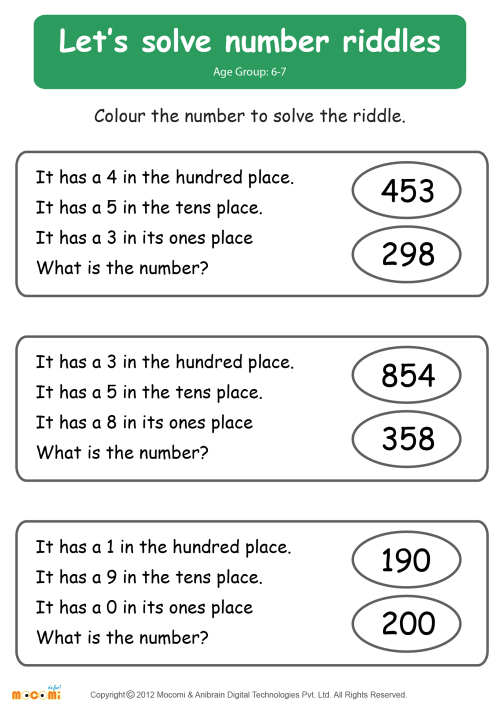 small resolution of Riddle Worksheets Printable   Printable Worksheets and Activities for  Teachers