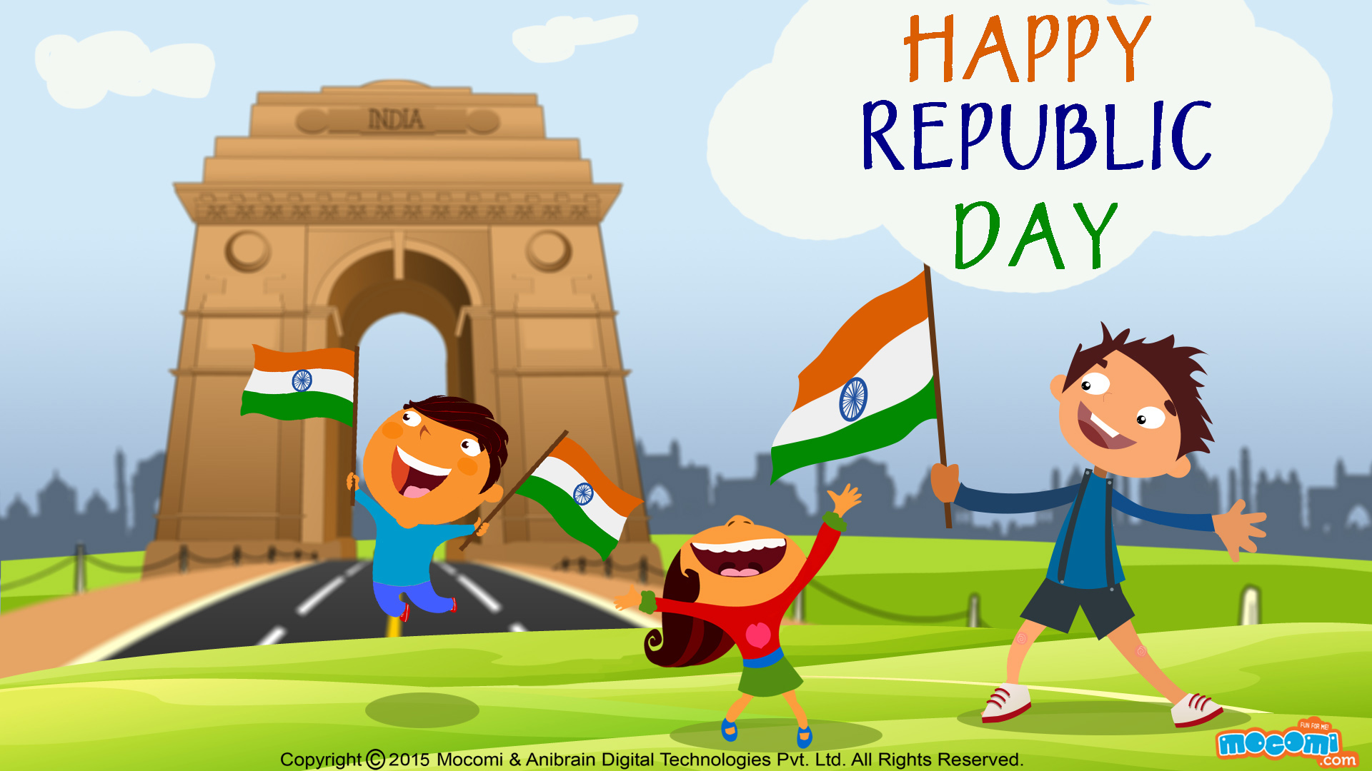 Republic Day Easy Drawing Images Manisat Satellite Service
