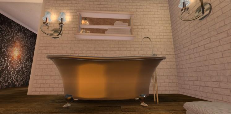 Colour Change Bath & On/Off Lights