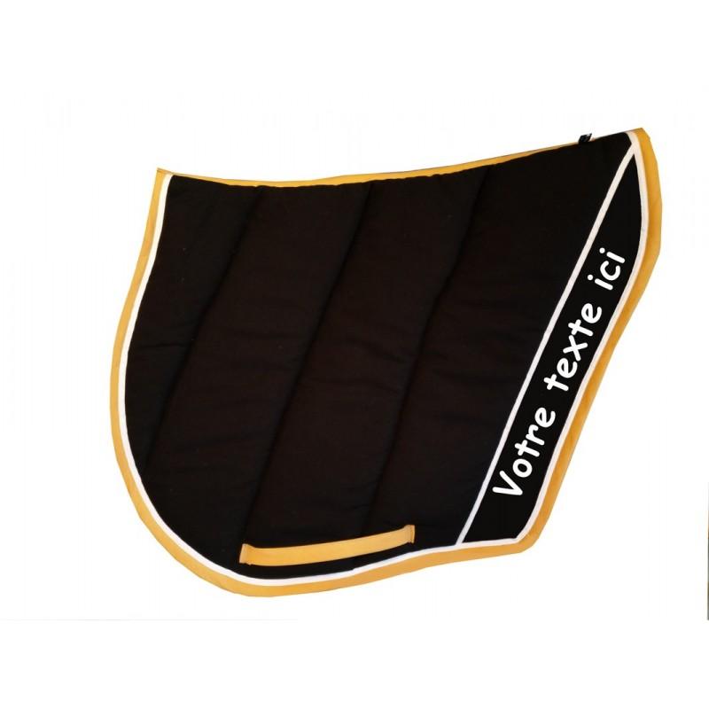 tapis de selle coupe sport personnalisable