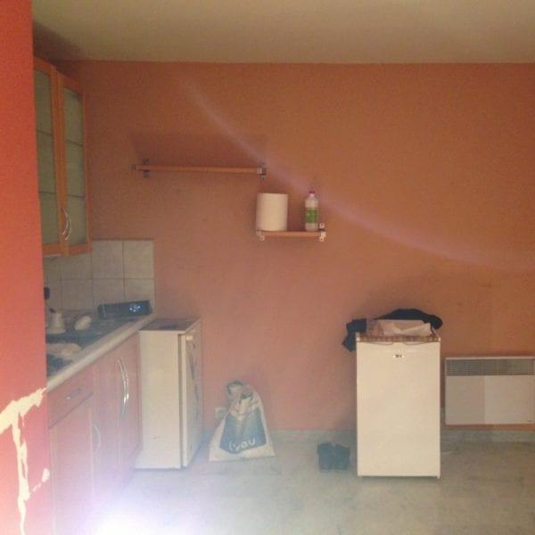 photo montrant un avant travaux d'une cuisine