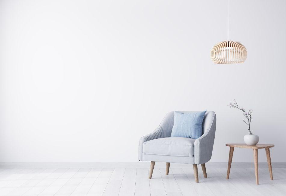 Images représentant les couleurs pastels du style scandinave