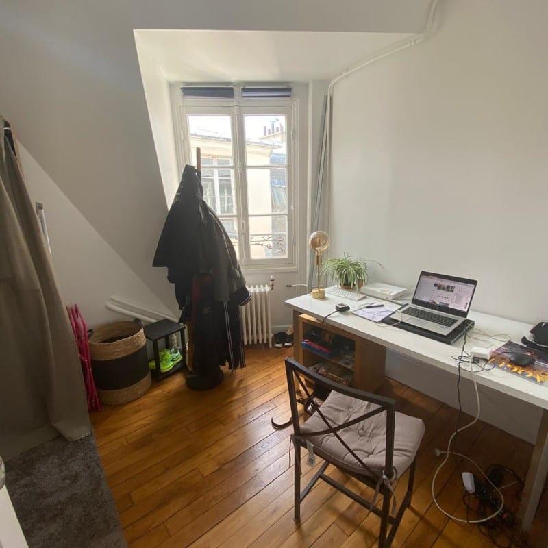 Image montrant une photo avant d'un projet de décoration intérieure d'un bureau dressing