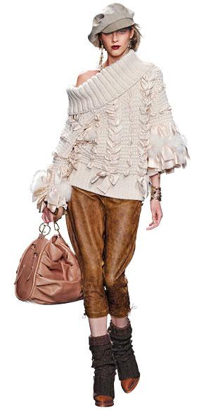 Moderni pleteni demperi  Moda