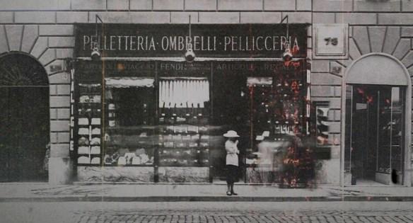 Dizionario della Moda Mame  Fendi. Il primo negozio a Roma. 9ae72b94d658