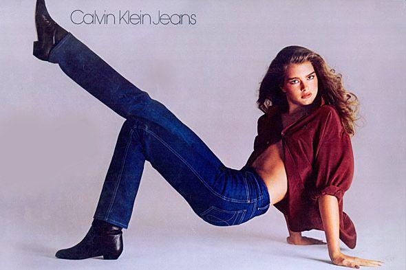 Calvin Klein 1982, Campagna pubblicitaria con Brooke Shields