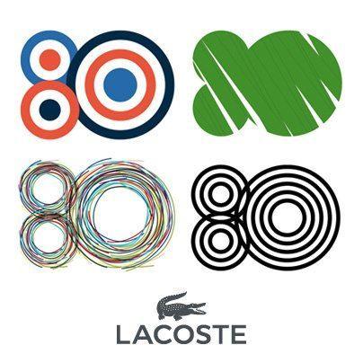Lacoste Logo per gli 80 anni di Lacoste