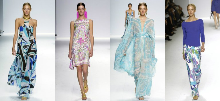 Emilio Pucci Christian Lacroix per Pucci, collezione primavera/estate 2006