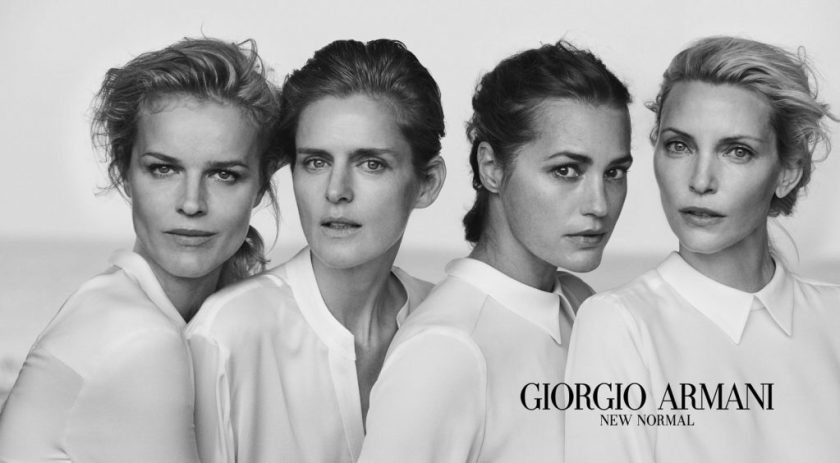 Armani Campagna pubblicitaria New Normal