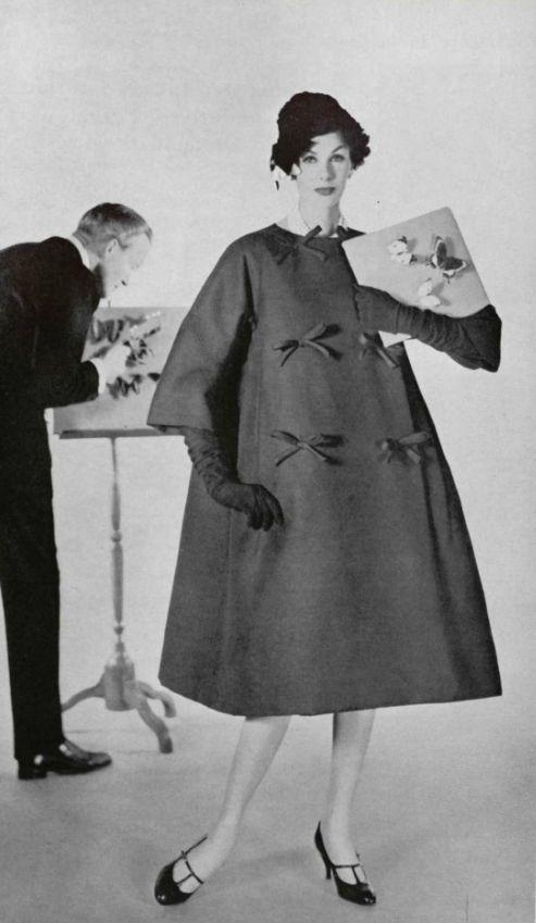 Christian Dior Collezione di Yves Saint Laurent per Dior, 1958