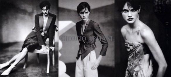 Giorgio Armani Campagna pubblicitaria primavera estate 2003 69fceebe553