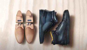 Modello della prima sneaker a marchio Berluti