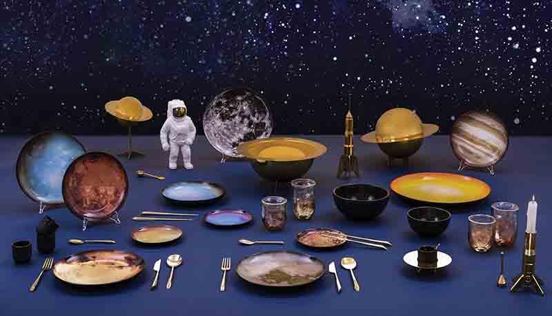 Dizionario della Moda Mame: Seletti. Diesel living with Seletti, Cosmic Dinner