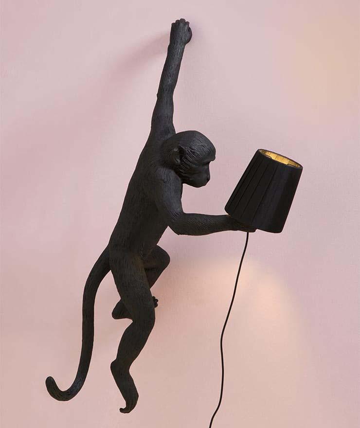 Dizionario della Moda Mame: Seletti. Monkey lamp, by Marcantonio Raimondi Malerba