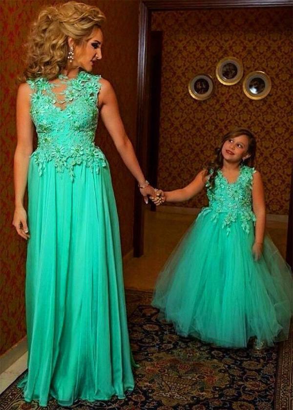 Moda Mãe e Filha Festa