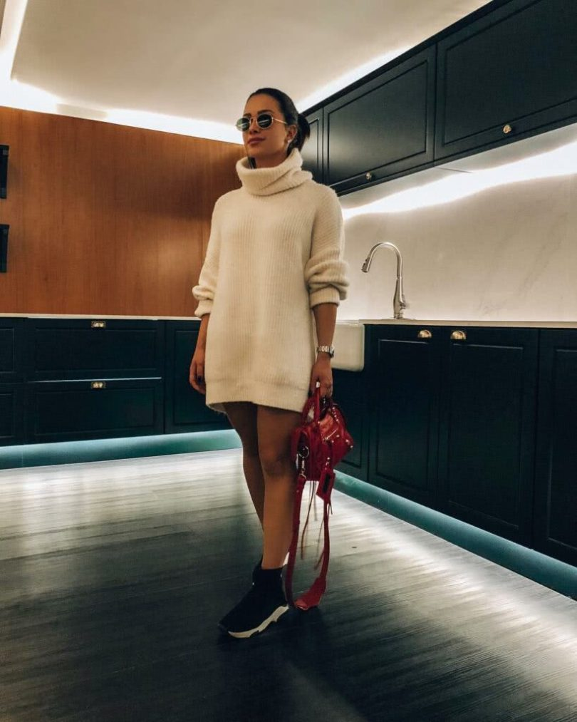 vestidos manga longa 2022