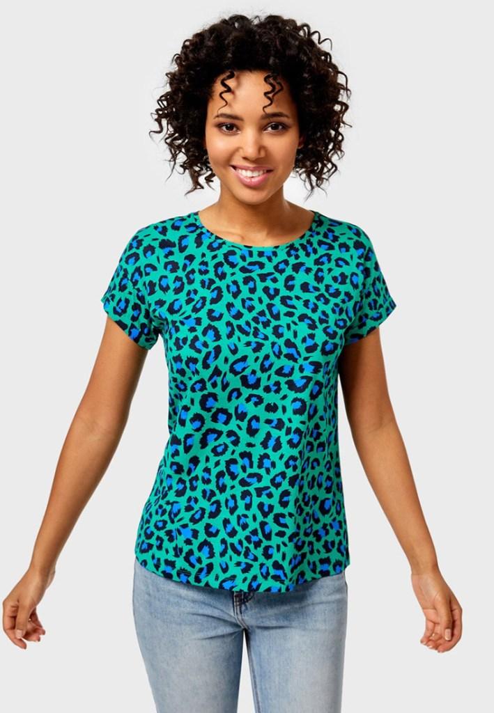 Леопардовый принт летом