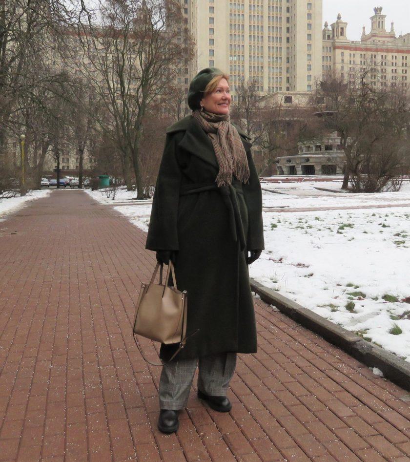 большое пальто