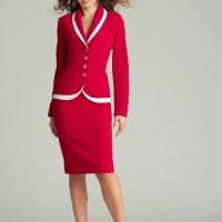İş kadınları için en uygun bayan takım elbise modelleri