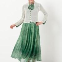 Genç bayanlar için en güzel tesettür takım elbiseleri
