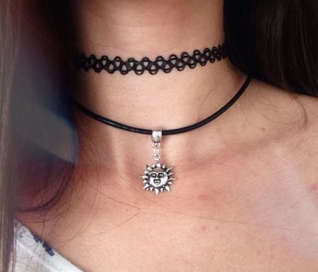 tatto choker black