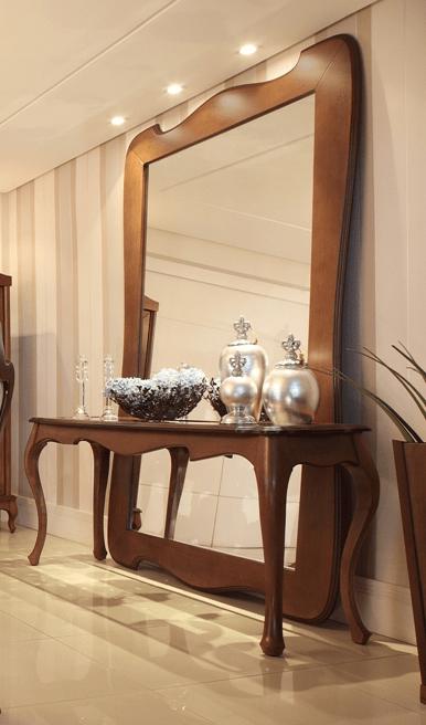 Aparador com espelho dicas e modelo  Moda  Decor