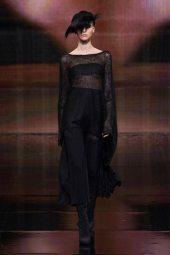 Sasha Luss - Donna Karan 2014 Sonbahar-Kış Koleksiyonu