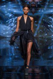 Malaika Firth - Donna Karan 2014 Sonbahar-Kış Koleksiyonu