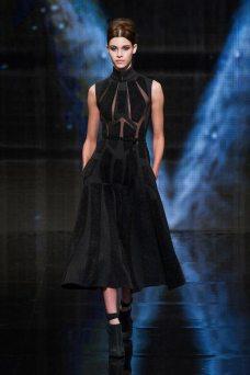 Pauline Hoarau - Donna Karan 2014 Sonbahar-Kış Koleksiyonu