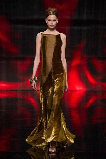 Elisabeth Erm - Donna Karan 2014 Sonbahar-Kış Koleksiyonu