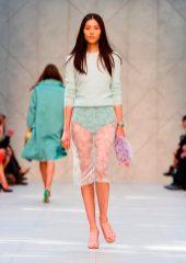 Liu Wen - Burberry 2014 İlkbahar-Yaz