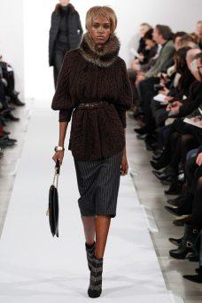 Leila Nda - Oscar de la Renta 2014 Sonbahar-Kış Koleksiyonu
