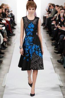 Josephine Skriver - Oscar de la Renta 2014 Sonbahar-Kış Koleksiyonu