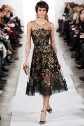 Marilia Dutra - Oscar de la Renta 2014 Sonbahar-Kış Koleksiyonu