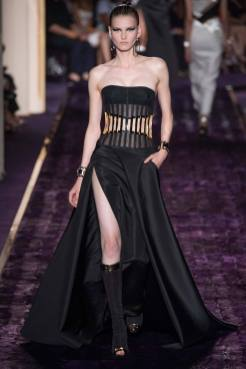 Katlin Aas - Atelier Versace Fall 2014 Couture