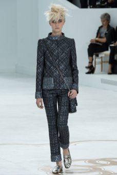 Juliette Fazekas - Chanel Fall 2014 Couture