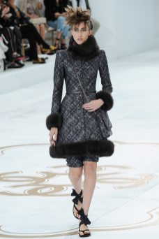 Anna Cleveland - Chanel Fall 2014 Couture