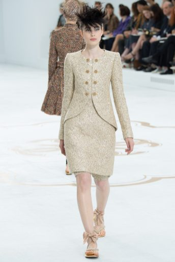 Larissa Hofmann - Chanel Fall 2014 Couture