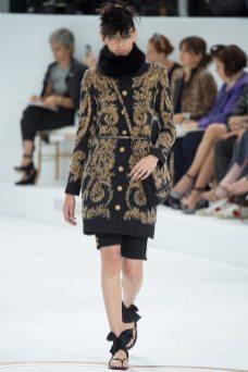 Binx Walton - Chanel Fall 2014 Couture