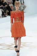 Maartje Verhoef - Chanel Fall 2014 Couture