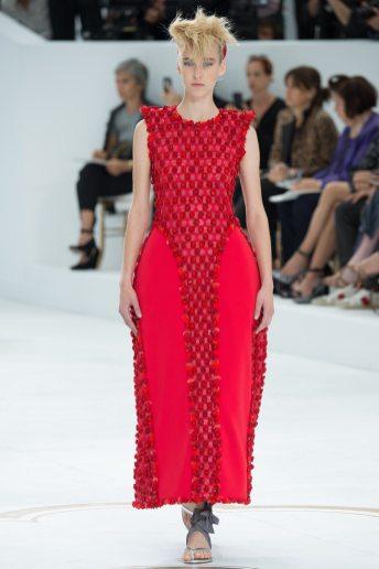 Eva Berzina - Chanel Fall 2014 Couture