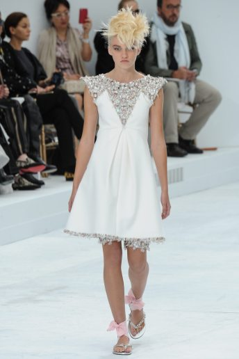 Maggie Laine - Chanel Fall 2014 Couture
