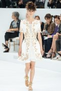 Marte Mei van Haaster - Chanel Fall 2014 Couture
