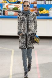 Malaika Firth - Chanel Fall 2014