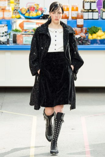 Edie Campbell - Chanel Fall 2014