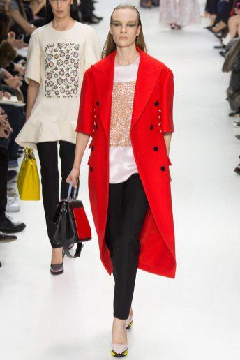 Charlotte Kohler - Christian Dior Fall 2014