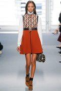 Malaika Firth - Louis Vuitton Fall 2014